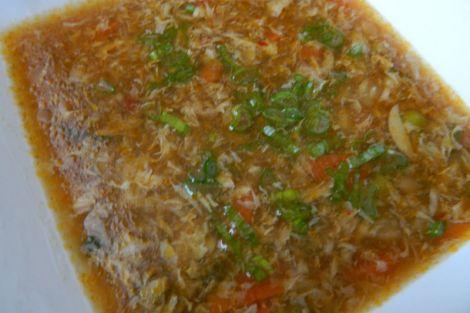 Csípős-savanyú leves magyarosan