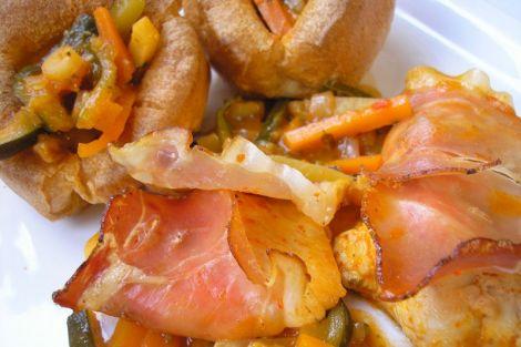 Zöldségragus csirkemell