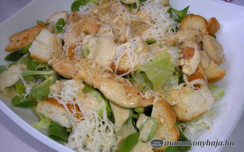 Cézár saláta 2