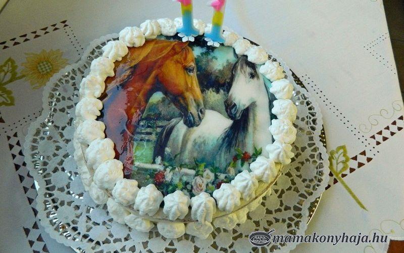 Csoki- és mogyorókrémes torta