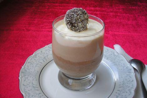 Csokis mascarpone kehely
