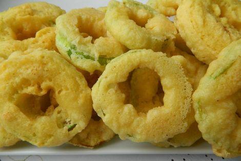 Cukkini tempura