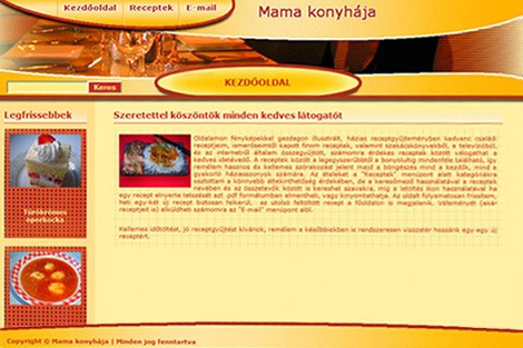 Régi oldal képe